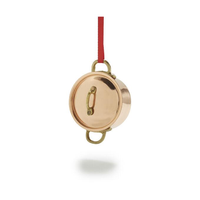 Stockpot Copper Ornament