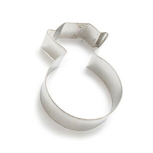 """Diamond Ring Cookie Cutter, 3.75"""""""