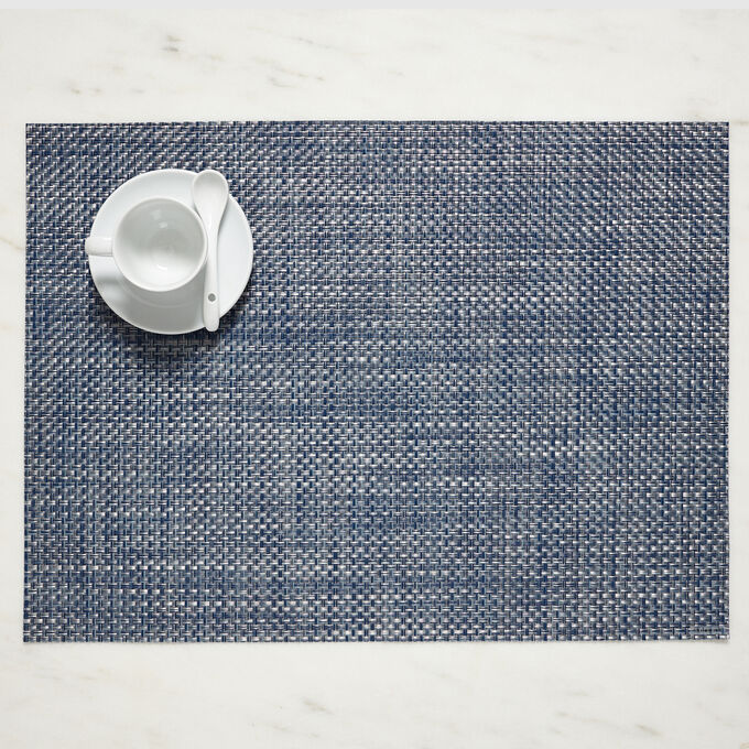 "Chilewich Basketweave Placemat, 19"" x 14"""