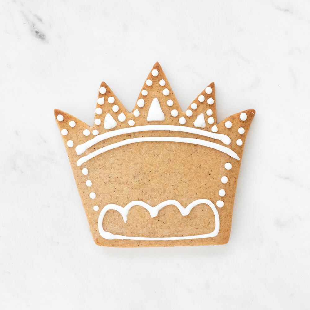 King's Crown Cookie Cutter, 4.25""
