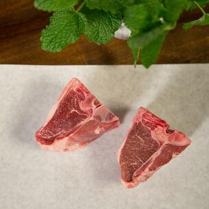 Porter & York Porterhouse Lamb Chops, Pack of 4