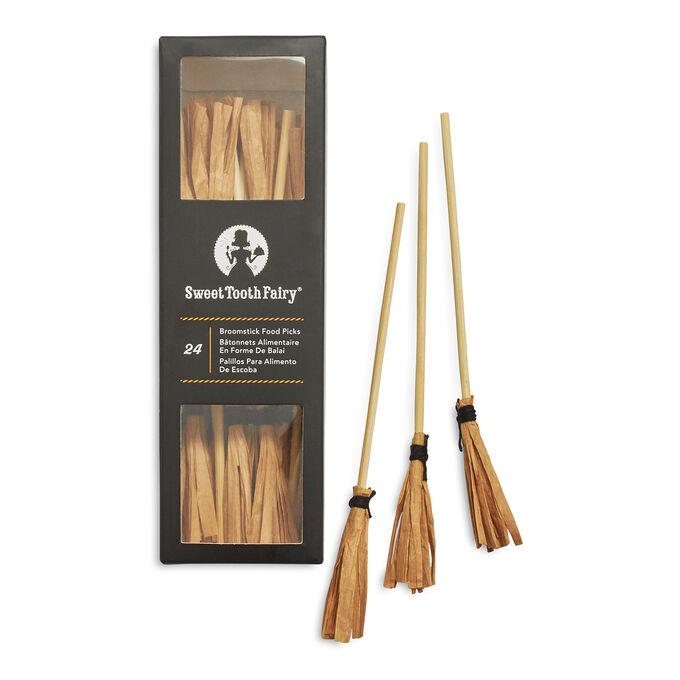 Halloween Broomstick Picks, Set of 24