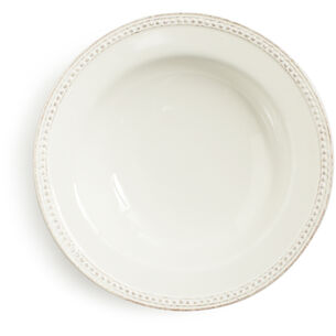 Pearl Stoneware Soup Plate