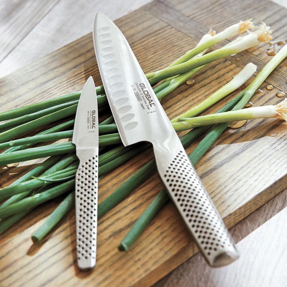 Global Hollow Edge Chef S Knife Set