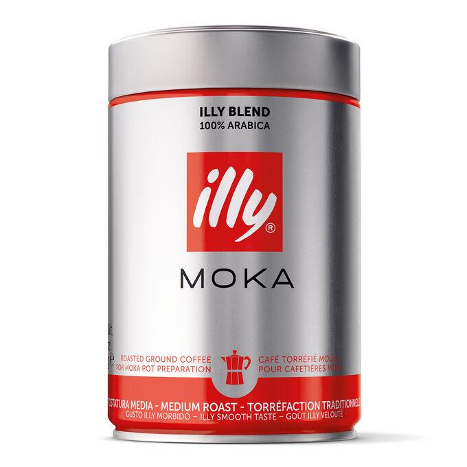 illy Ground Coffee, Moka