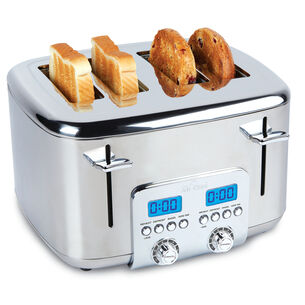 All-Clad Stainless Steel 4-Slice Digital Toaster