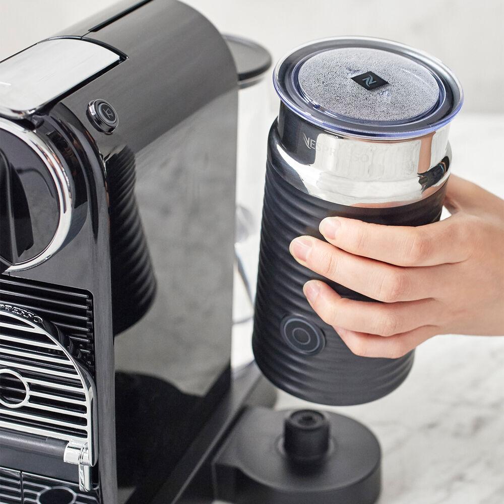 Nespresso CitiZ by De'Longhi Espresso Machine with Aeroccino3 Frother, Black