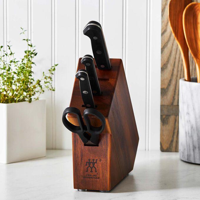 Zwilling Gourmet 5-Piece Studio Knife Block Set