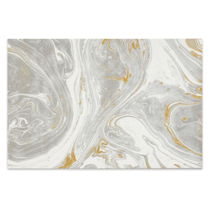 Gray Marbled Paper Placemats, Set of 30