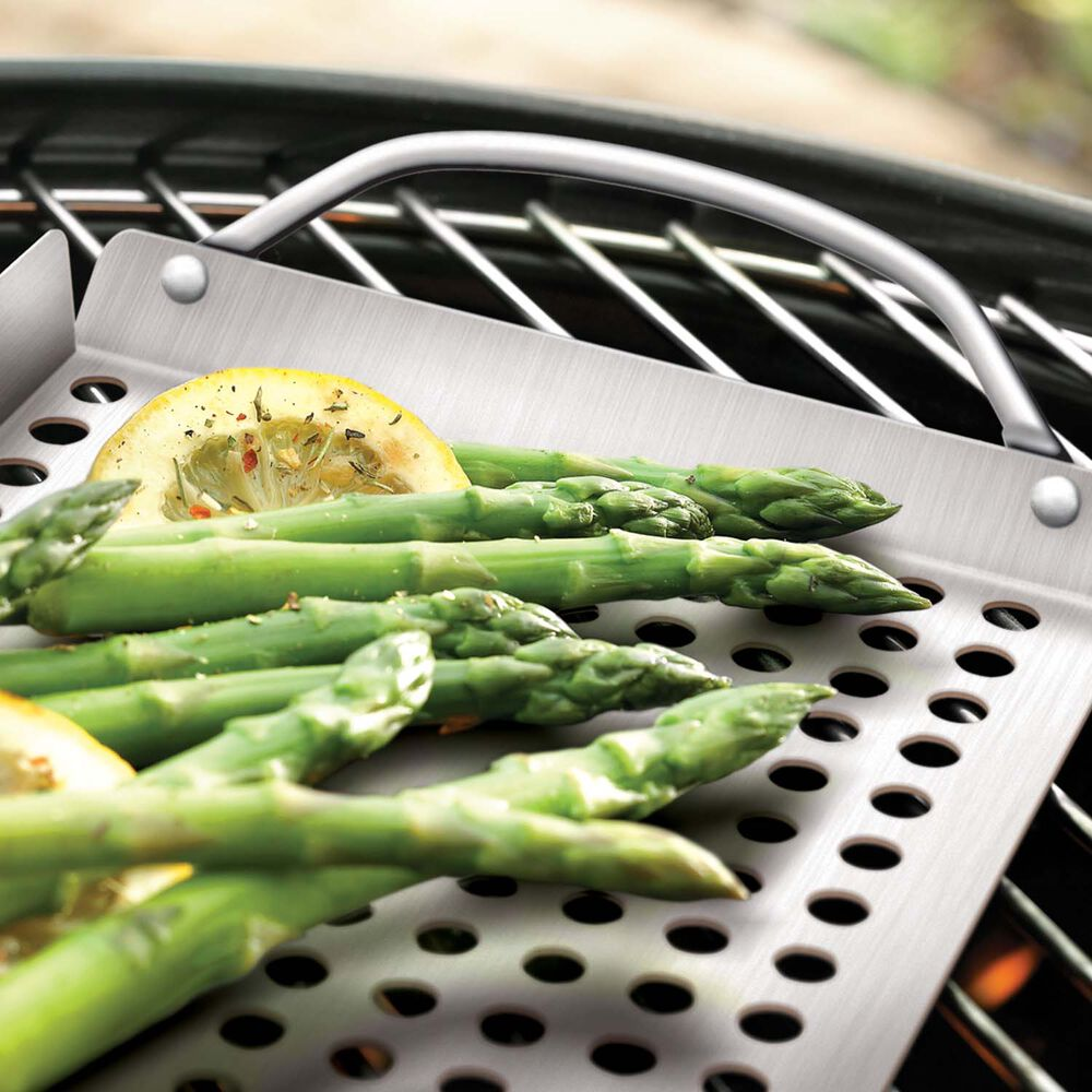 Stainless Steel Grill Grids, Set of 2
