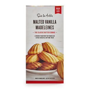 Sur La Table Malted Vanilla Madeleines