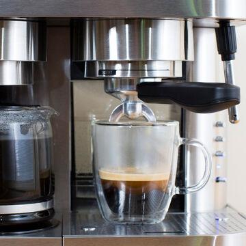 Espressione EM-1040 Combination Espresso Machine and Coffee Maker, 10 cup