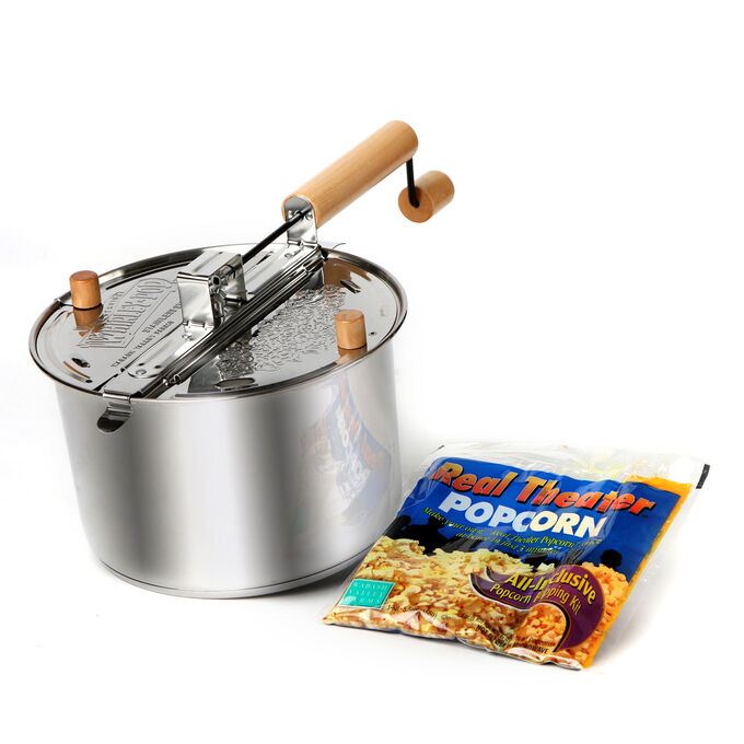 Stainless Steel Whirley Pop™ Popcorn Popper, 6 qt.
