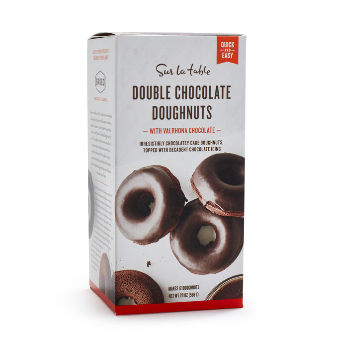 Sur La Table Double Chocolate Doughnuts