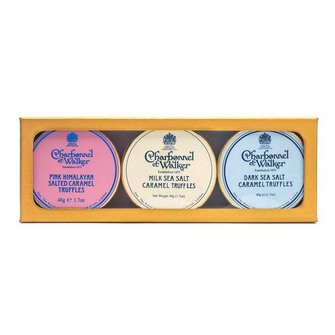 Charbonnel et Walker Salted Caramel Trio Gift Set
