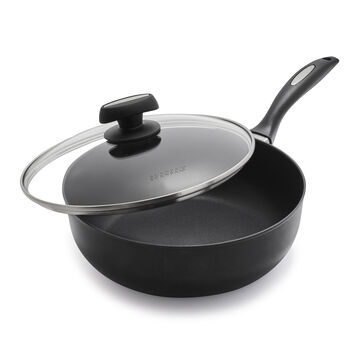 Scanpan ES5 Deep Sauté Pan with Lid, 4 qt.