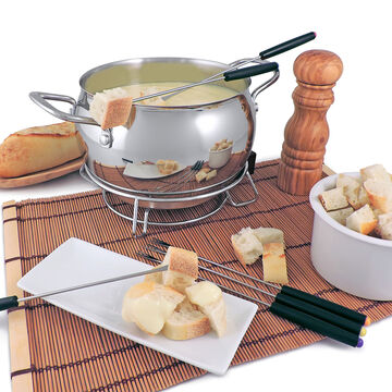 Swissmar Mont Brule 9-Piece Electric Fondue Set