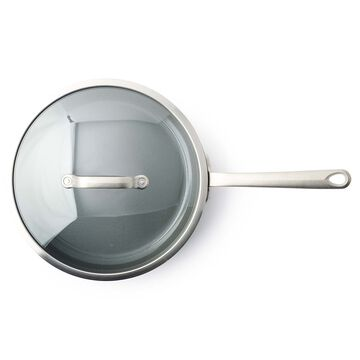 "GreenPan Craft Steel Nonstick Skillet with Lid, 12"""
