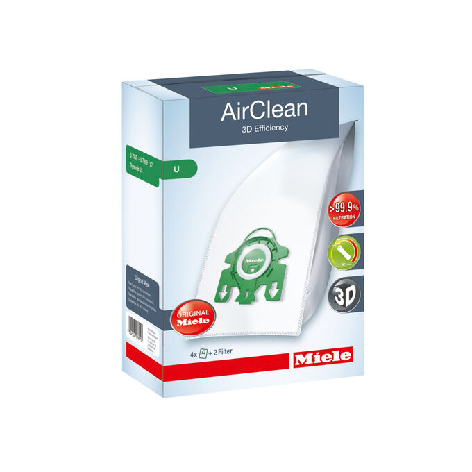 Miele AirClean U FilterBags Replacement Set