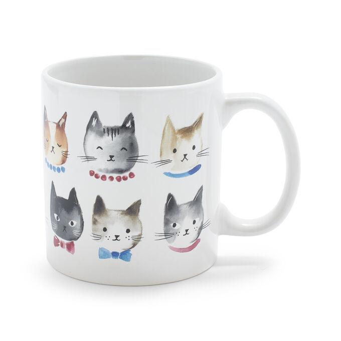 Cats Mug, 14 oz.