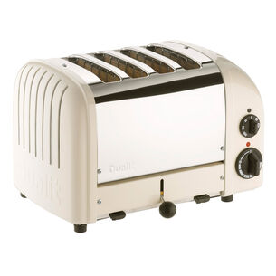 Dualit Canvas-White 4-Slice Toaster