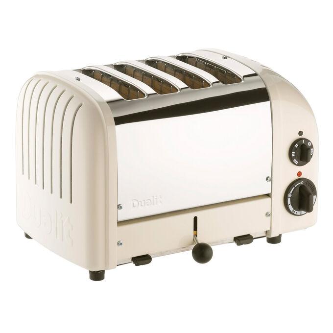 Dualit Canvas-White 4-Slice Toaster
