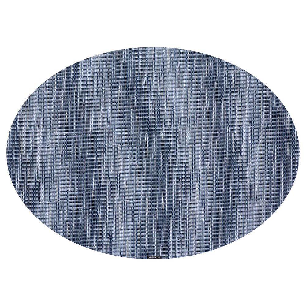 """Chilewich Bamboo Oval Placemat, 19.25"""" x 14"""""""