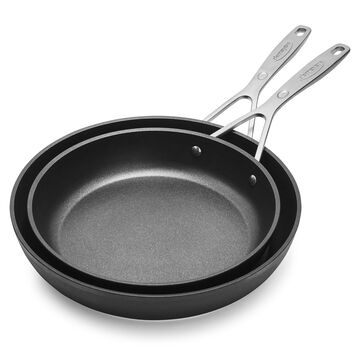 "Demeyere TiX Nonstick Skillets, 9.5"" and 11"" Set"