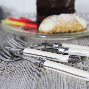 French Home Laguiole Cake Forks, Set of 4