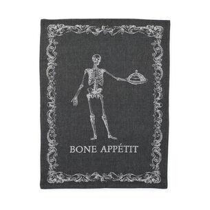 Bone Appetit Jacquard Kitchen Towel