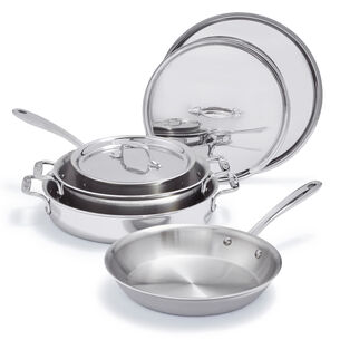 All-Clad d3 Compact 7-Piece Cookware Set