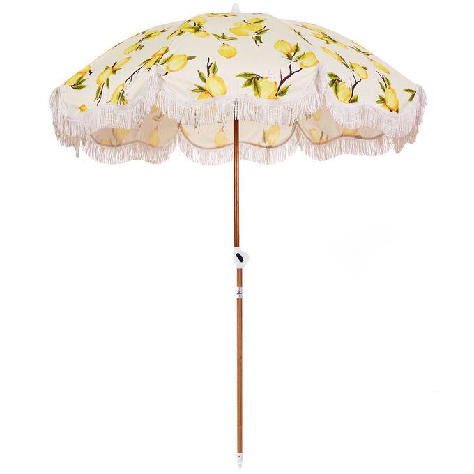 Striped Outdoor Umbrella