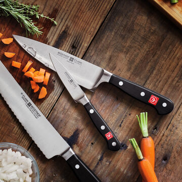 """Wüsthof Classic 6"""" Chef's Knife with Paring Knife"""
