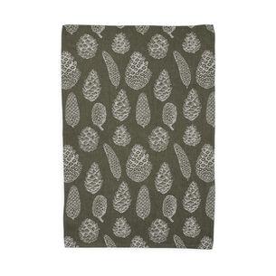 "Pinecone Jacquard Kitchen Towel, 30"" x 20"""