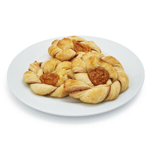 Gaston's Bakery Pumpkin Danishes, Set of 12