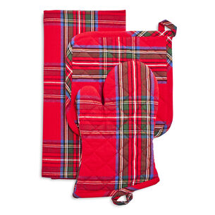 Christmas Plaid 3-Piece Gift Set