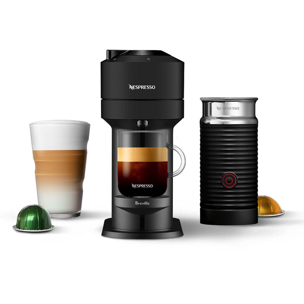 Nespresso Vertuo Next with Aeroccino 3 by Breville
