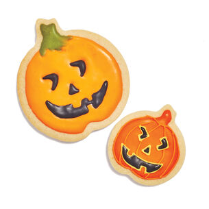 Pumpkin Silicone Cookie Cutters, Set of 2