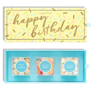 Sugarfina Happy Birthday Candy Bento Box