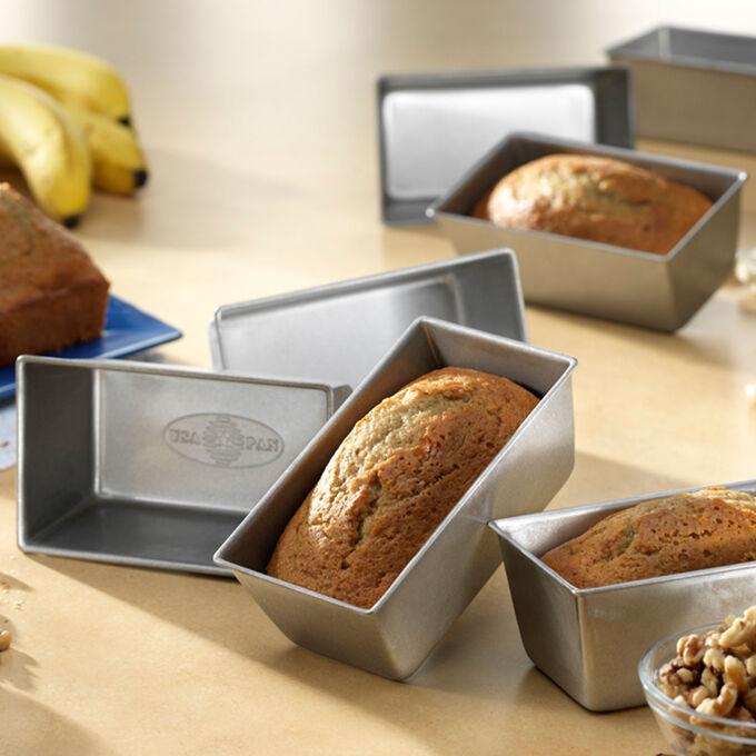 USA Pan Mini Loaf Pans, Set of 4