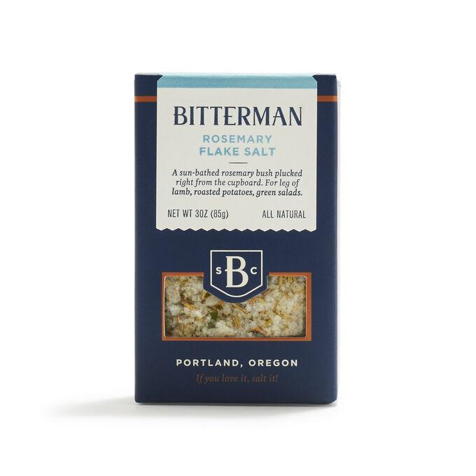 Bitterman Rosemary Flake Salt, 3 oz.
