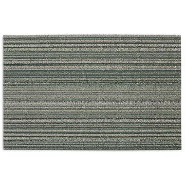 Chilewich Skinny Stripe Shag Mat, Spearmint