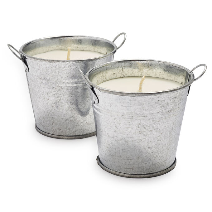 NIMBY Outdoor Citronella Candles, Set of 2