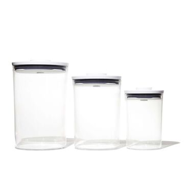 OXO Good Grips 3-Piece POP Round Container Set