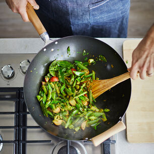 Sur La Table Professional Nonstick Wok