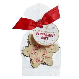 Saxon's Peppermint Bark Snowflake Bag