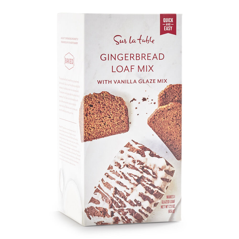 Gingerbread Loaf Mix with Vanilla Glaze