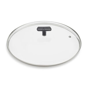 BK Black Steel Glass Lid, 12""