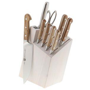 Zwilling Pro Holm Oak 10-Piece Knife Block Set
