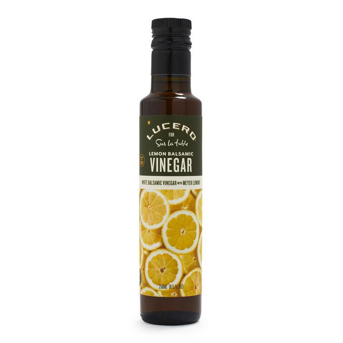 Lucero Lemon White Balsamic Vinegar, 8.5 oz.
